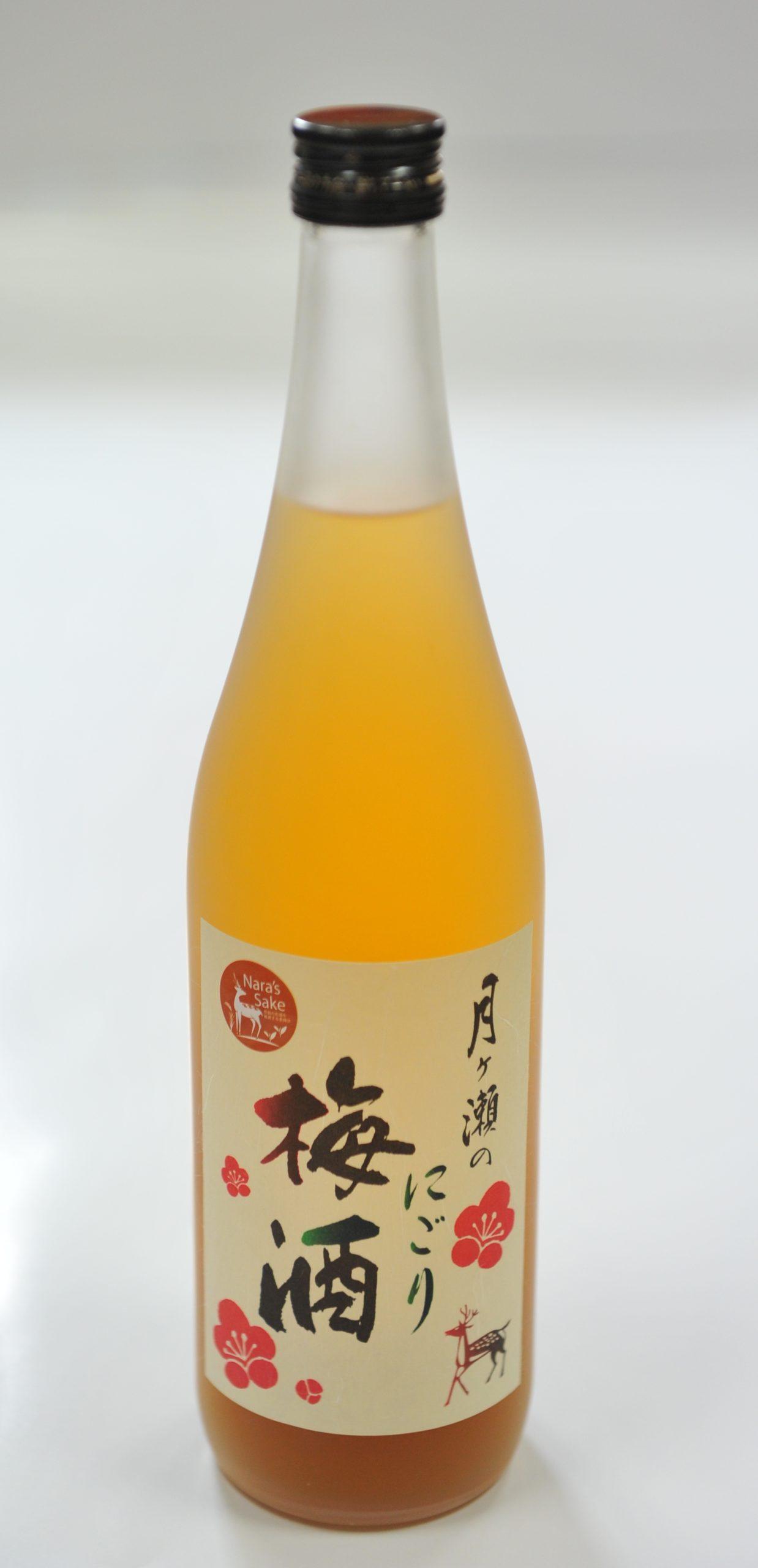 月ヶ瀬のにごり梅酒 1,800ml