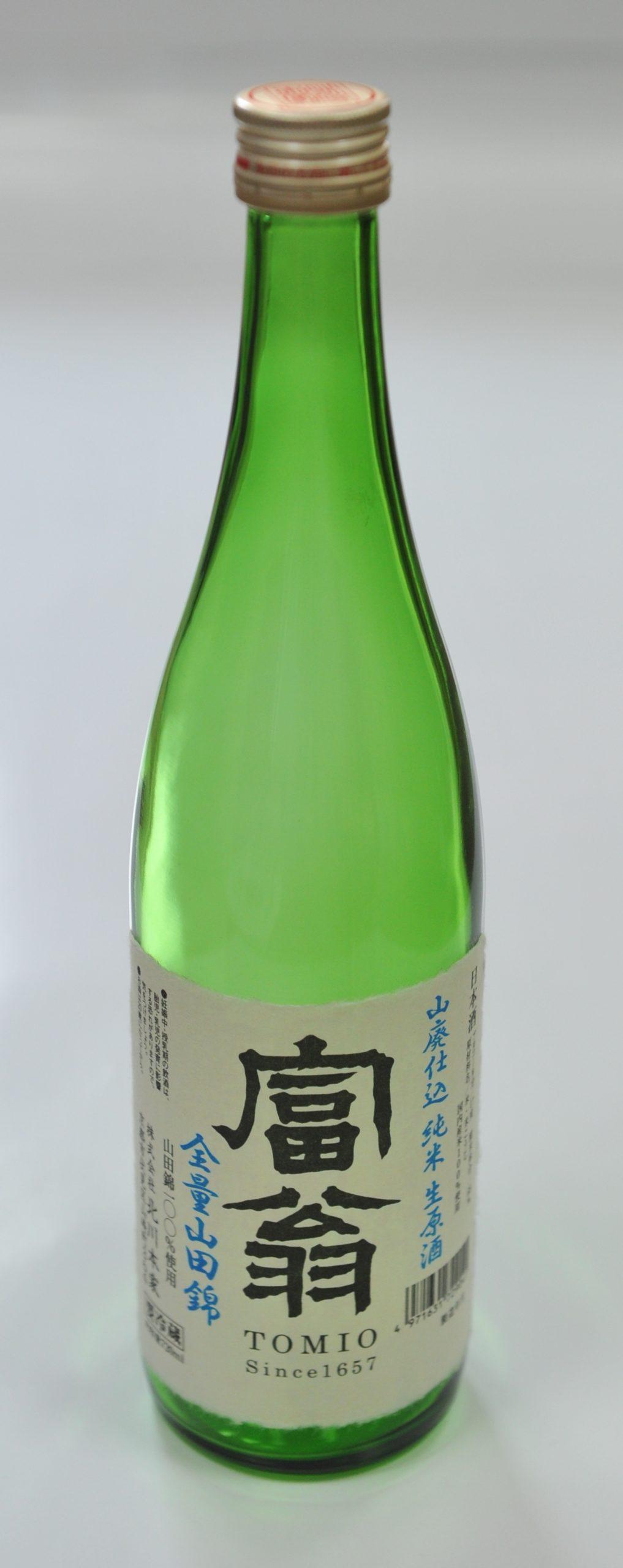 富翁 山廃仕込 純米生原酒  720ml